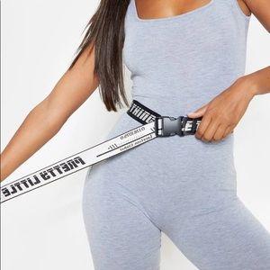 PrettyLittleThing PLT Reversible NWOT Belt